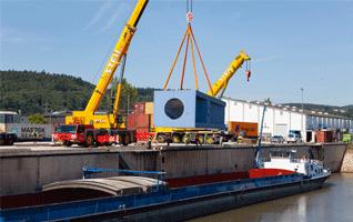 Gli impianti idroelettrici mobili