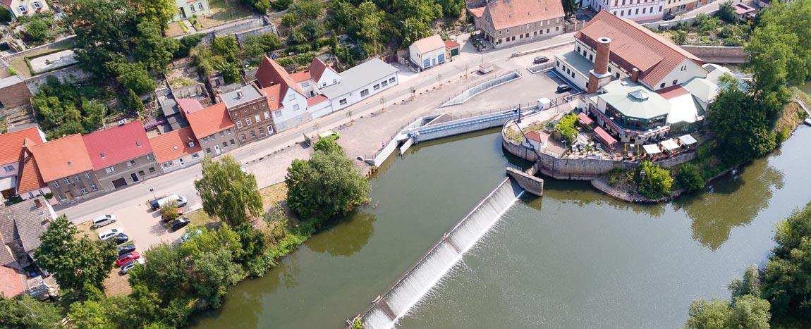 Hydropower plant Freyburg / Unstrut